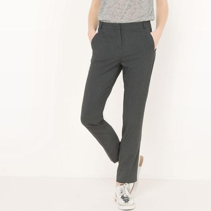 Pantalon slim, cigarette en polyester La Redoute Collections