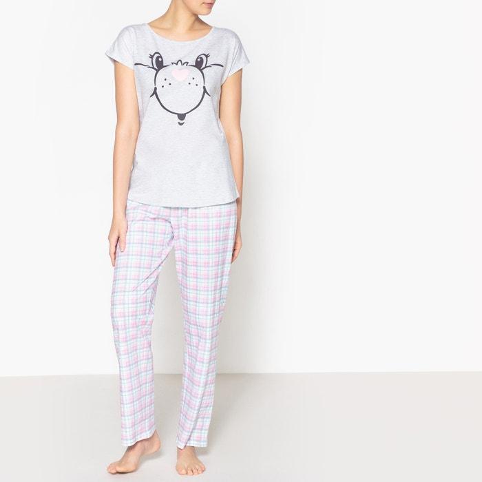 Care Bears 2-Piece Printed Cotton Pyjamas  LES BISOUNOURS image 0