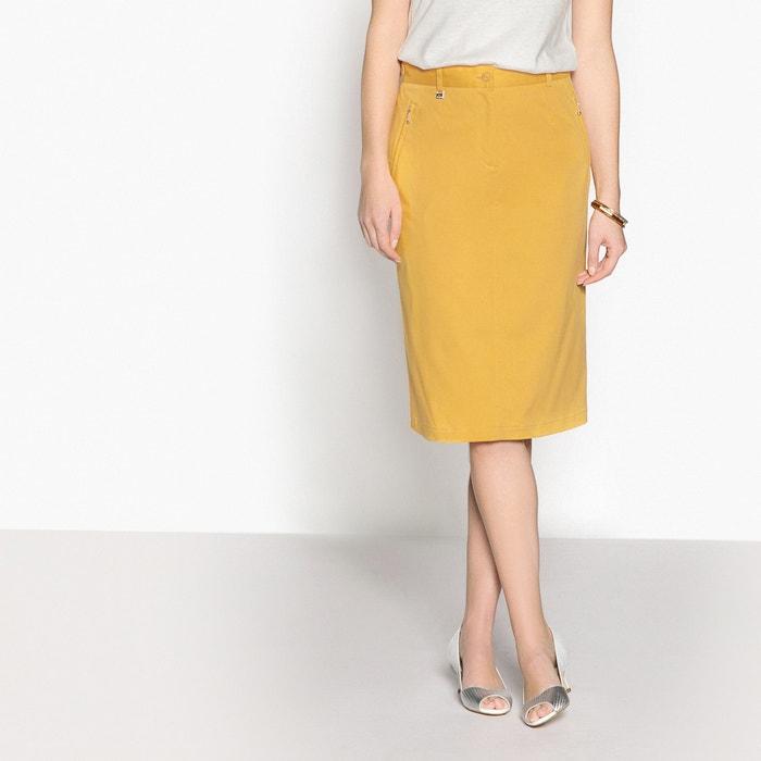Plain Straight Skirt  ANNE WEYBURN image 0