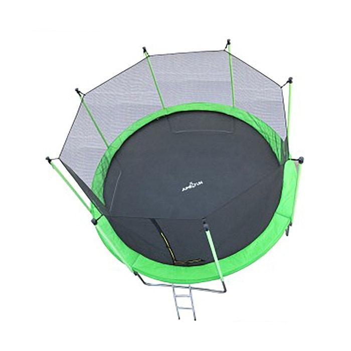 Trampoline JUMP4FUN 12FT - 366cm - Vert pomme