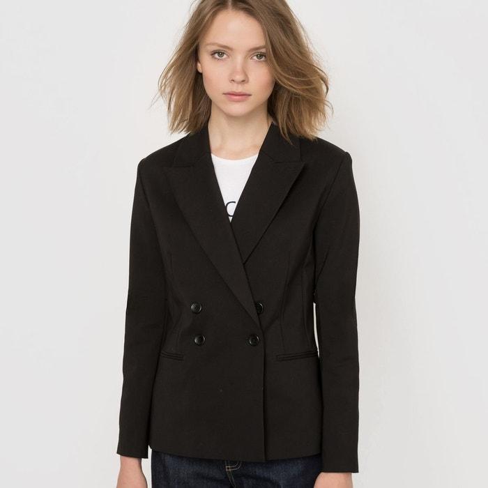 veste de costume noir la redoute collections en solde la. Black Bedroom Furniture Sets. Home Design Ideas