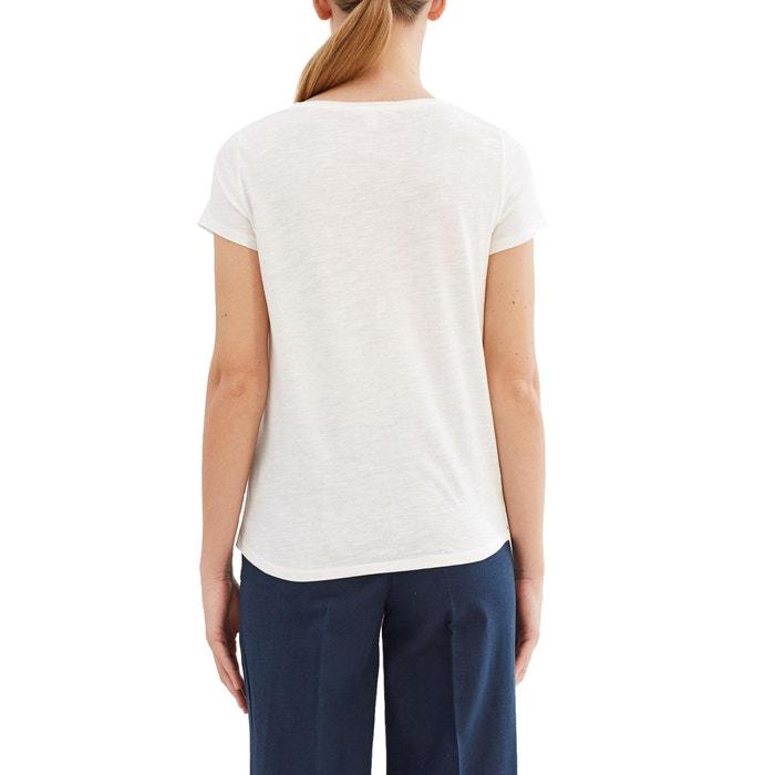 Image Tee shirt col rond, imprimé ESPRIT