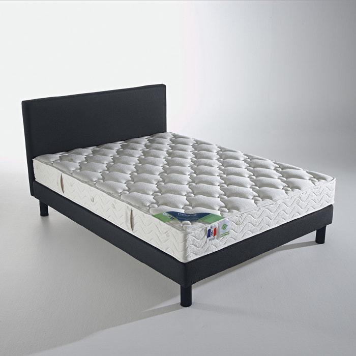 matelas ressorts ensach s confort ferme haut 23 cm cru reverie la redoute. Black Bedroom Furniture Sets. Home Design Ideas