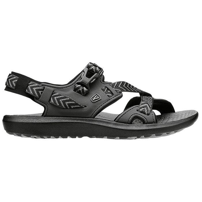 Maupin - sandales femme - gris/noir noir Keen