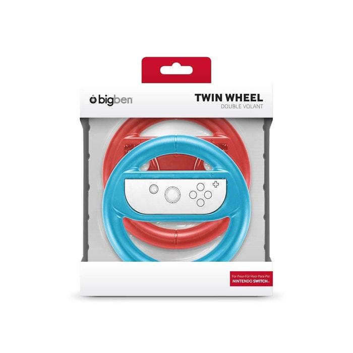Lot de 2 volants pour Joy-Con bleu et rouge Nintendo Switch