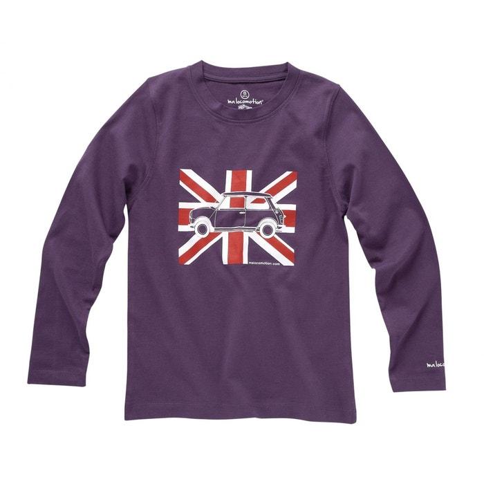 Austin Shirt Enfants Mini T Violet Drapeau Manches Pour Anglais ALcRS5q34j