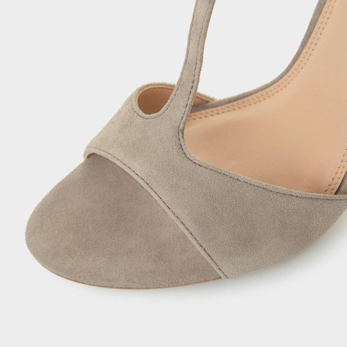 Sandales style salomé à bout ouvert - mytho Dune London