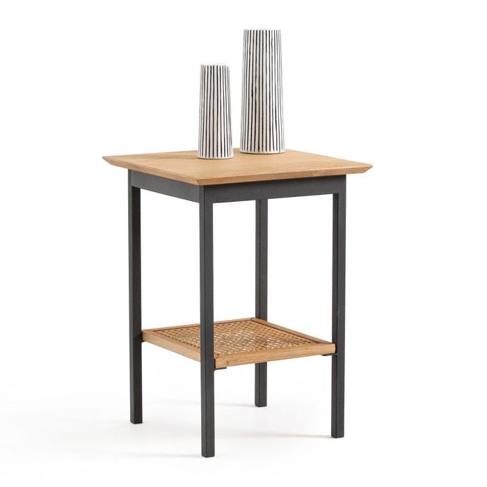 Tavolino In Vimini.Tavolino Rovere E Vimini Waska