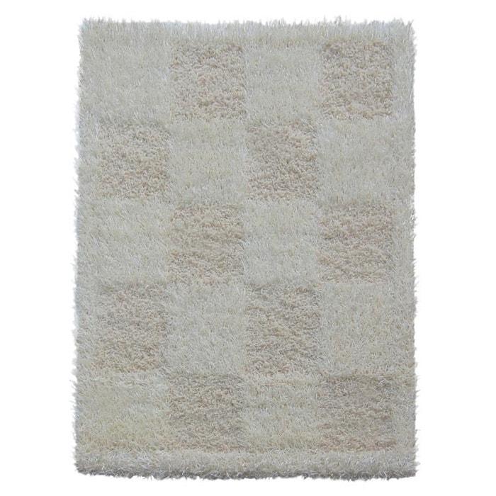 tapis shaggy matis ivoire ivoire natacha b la redoute. Black Bedroom Furniture Sets. Home Design Ideas