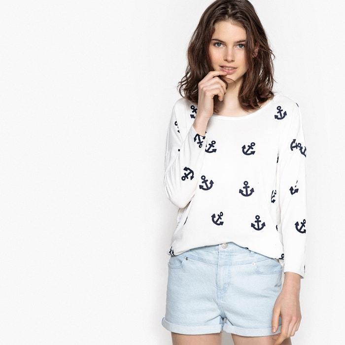 cuello barco gr estampado Camiseta ONLY 225;fico y con tEAw4xpnqf