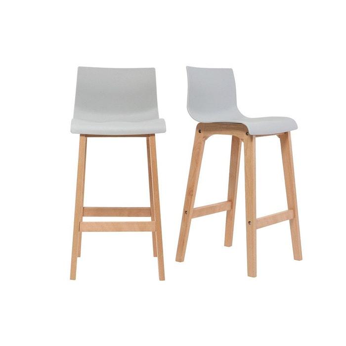 tabouret de bar 75cm lot de 2 new surf miliboo la redoute. Black Bedroom Furniture Sets. Home Design Ideas