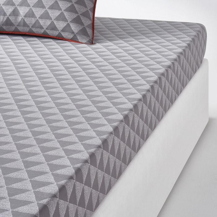 Image Drap-housse, coloris gris, Issor La Redoute Interieurs