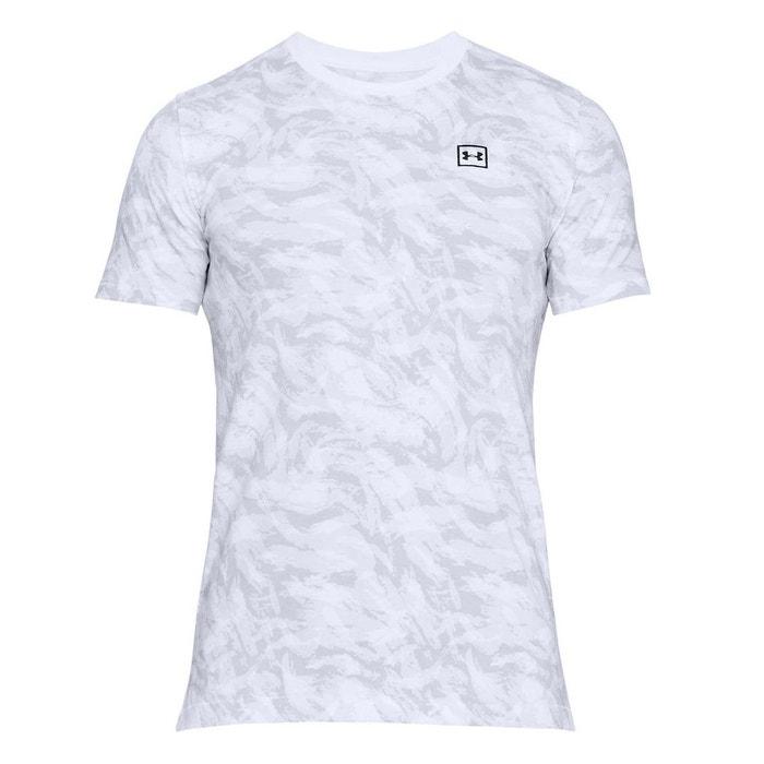 T-shirt col rond imprimé Under Armour   La Redoute b23ed18e62e9