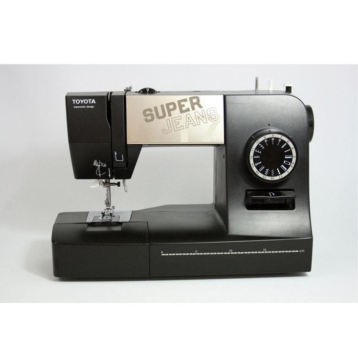 machine coudre super jeans 17xl noir toyota la redoute. Black Bedroom Furniture Sets. Home Design Ideas