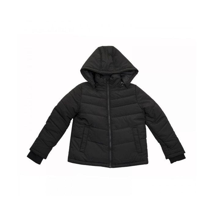 Doudoune cadet polyester noir Hugo Boss   La Redoute 6997e1c25fa