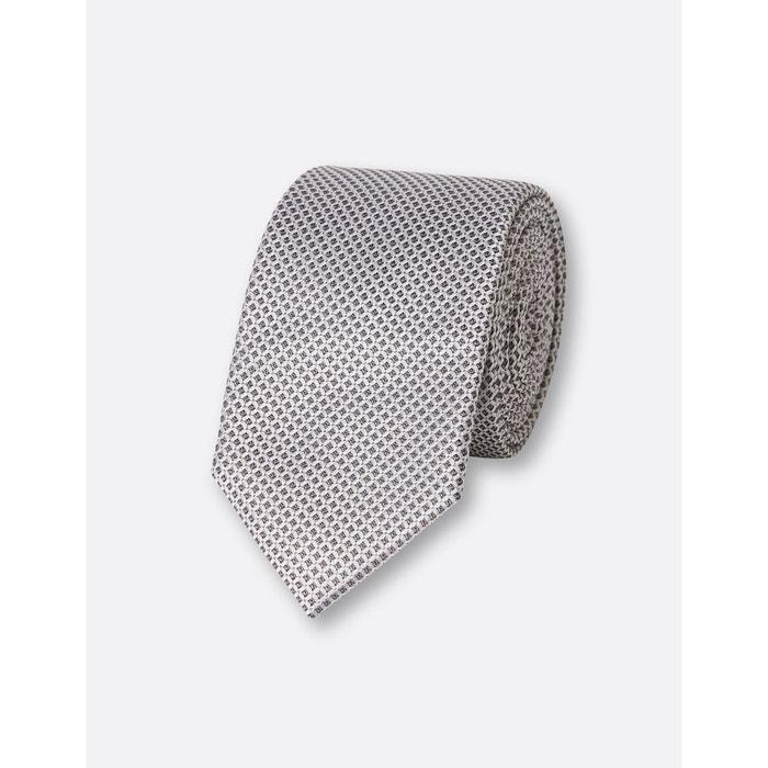 Cravate 6,5cm soie gris clair Brice | La Redoute