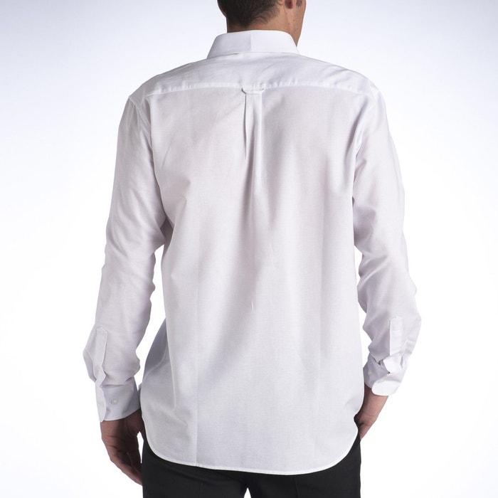 MEN manga CASTALUNA lisa larga Camisa FOR 7gTz5wq