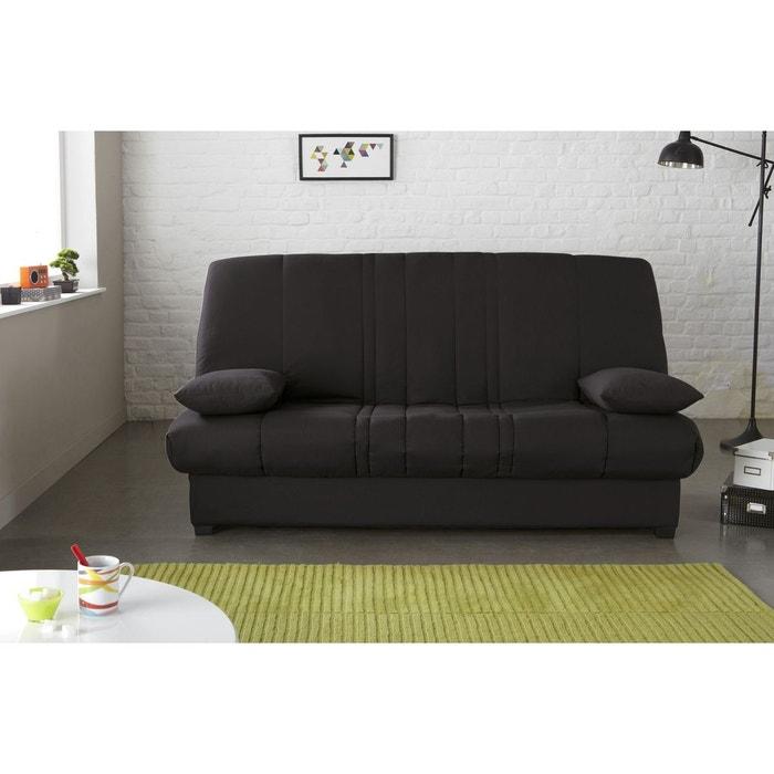 banquette lit clic clac edwin matelas mousse pillotech. Black Bedroom Furniture Sets. Home Design Ideas