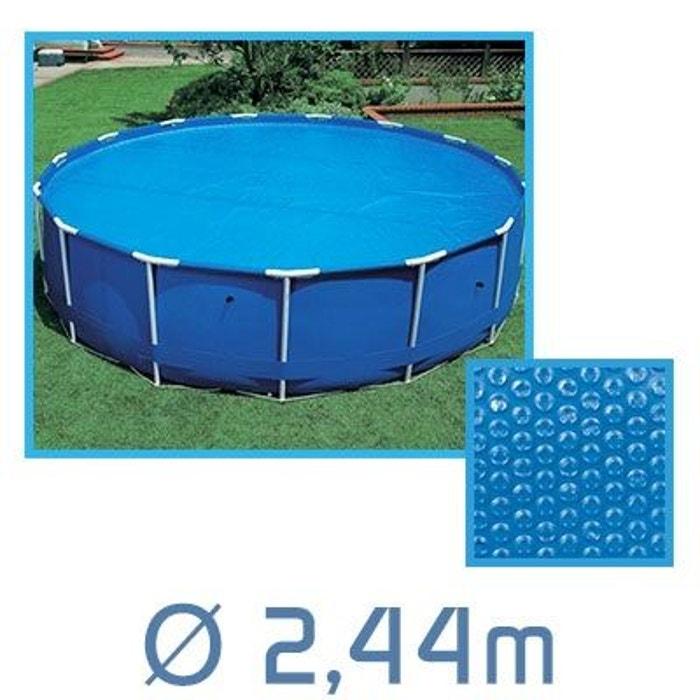 B che bulles ronde 180 microns pour piscine intex ou autre couleur unique linxor la for Piscine la redoute