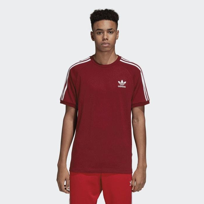 T-shirt col rond manches courtes imprimé devant Adidas Originals ... 308d4221025