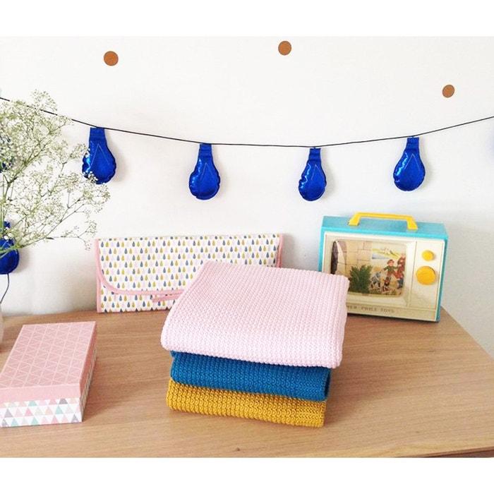 Guirlande décorative chambre bébé tissu simili cuir collection ...