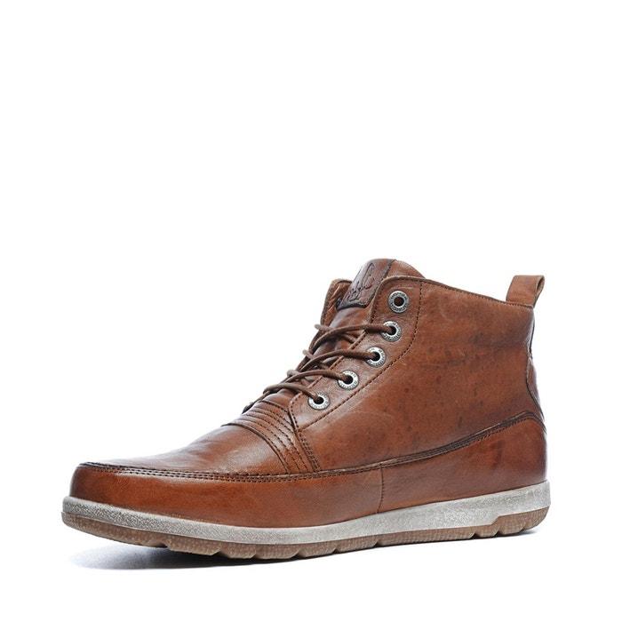 Rehab boots à lacets marron Sacha