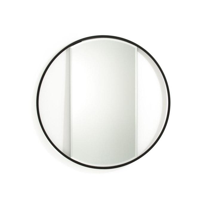 miroir rond reflet noir la redoute interieurs la redoute. Black Bedroom Furniture Sets. Home Design Ideas