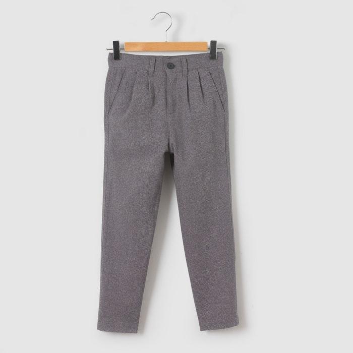 Image Flanelowe spodnie typu chino 3-12 lat La Redoute Collections
