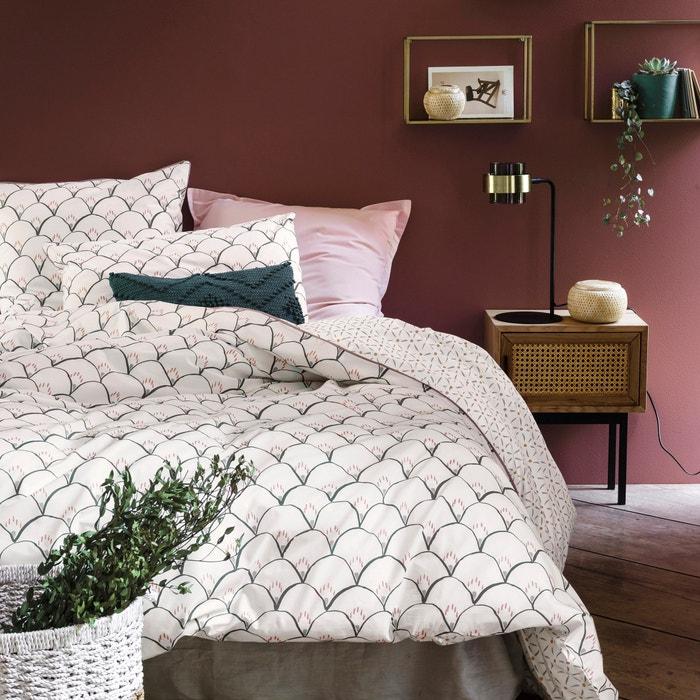 capa de edredon em percal de algod o elka branco. Black Bedroom Furniture Sets. Home Design Ideas