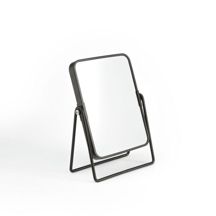 Miroir de salle de bain rectangulaire fiolana noir La Redoute ...