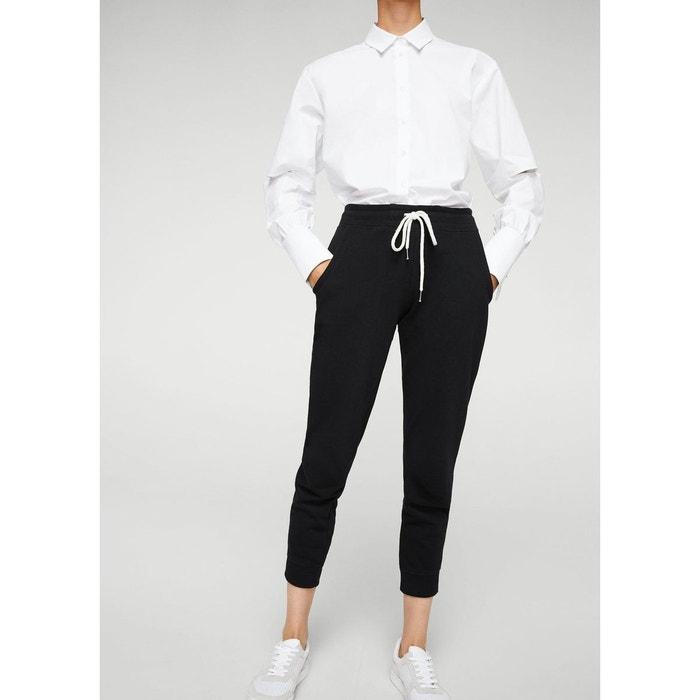 Pantalon baggy cordon MANGO