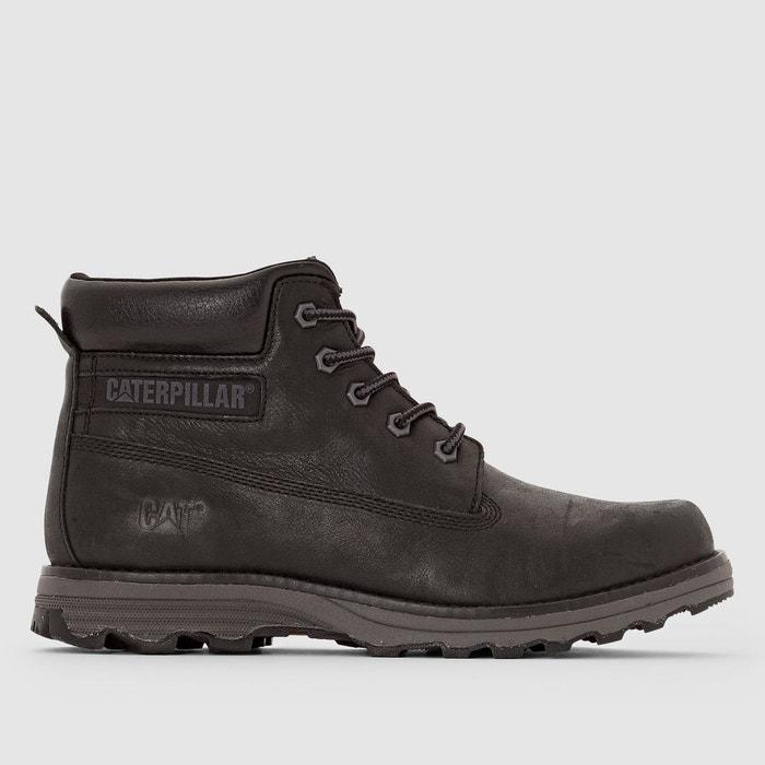 1b24e779b18d44 Boots en cuir founder noir Caterpillar | La Redoute