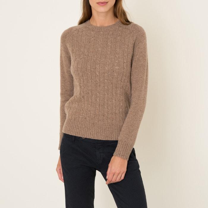 Бежевый пуловер доставка