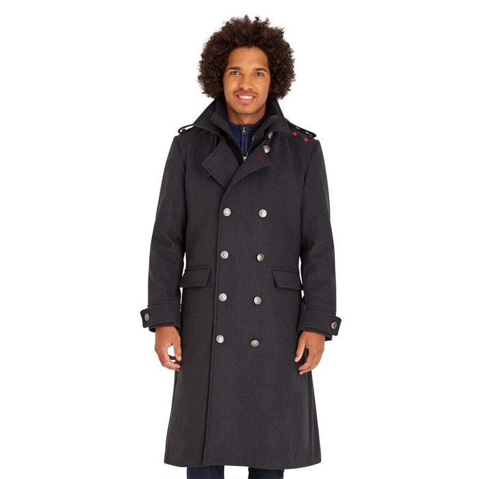 long manteau militaire homme crois style trench gris joe browns la redoute. Black Bedroom Furniture Sets. Home Design Ideas