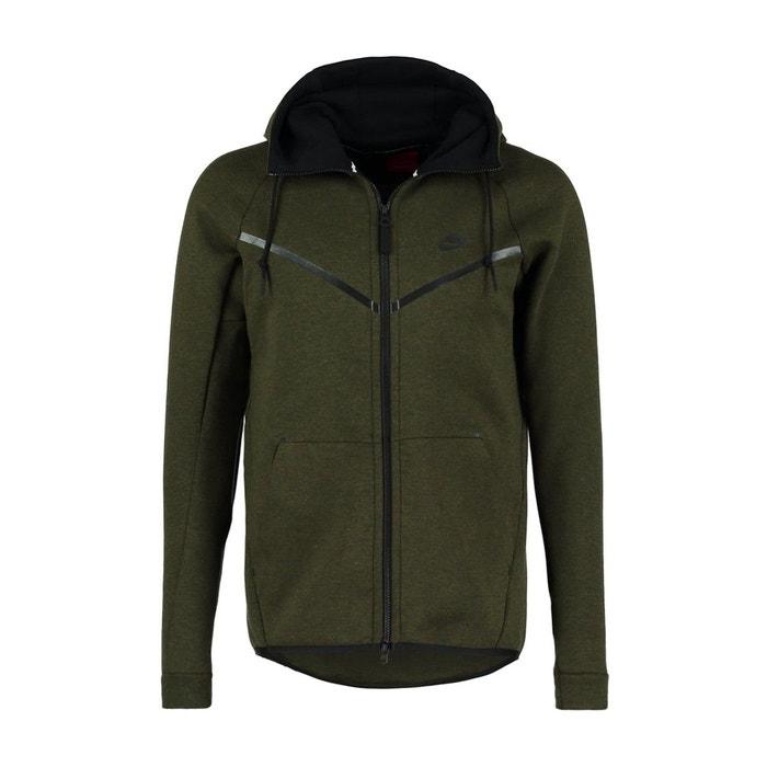 Sweat zippé tech fleece - 805144-330 noir Nike