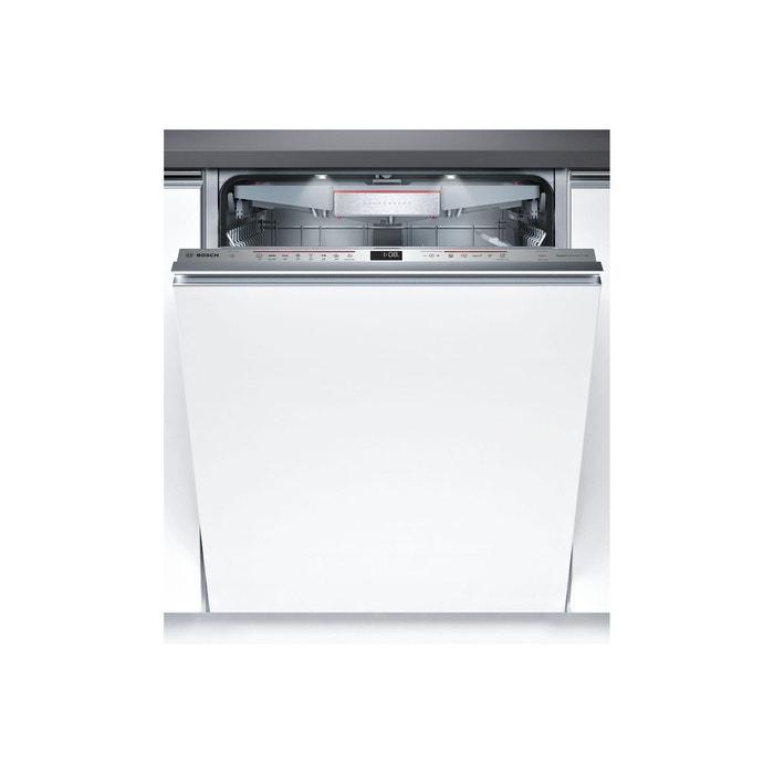lave vaisselle encastrable smv68tx00e blanc bosch la redoute. Black Bedroom Furniture Sets. Home Design Ideas