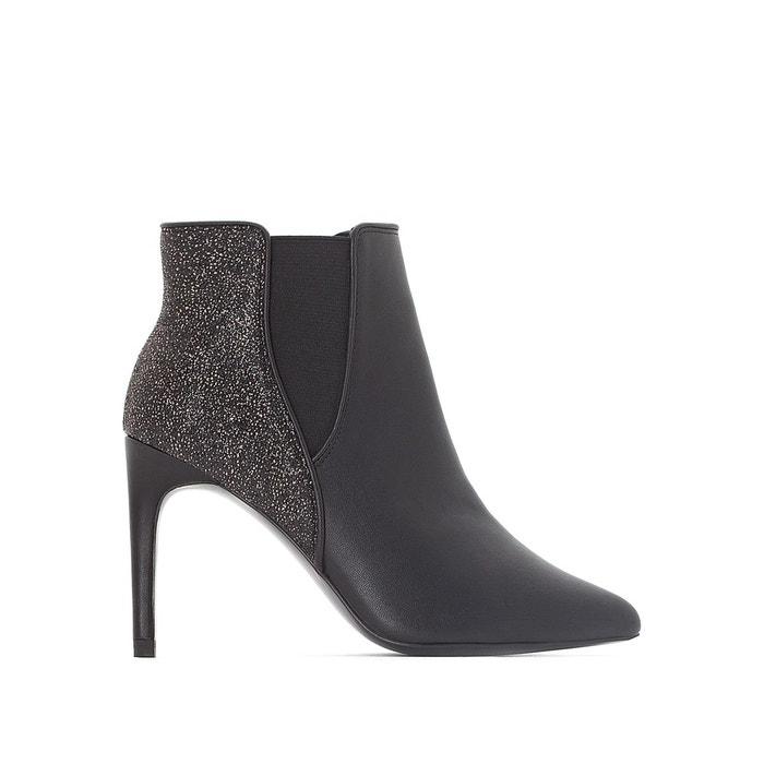 Boots détail paillettes La Redoute Collections