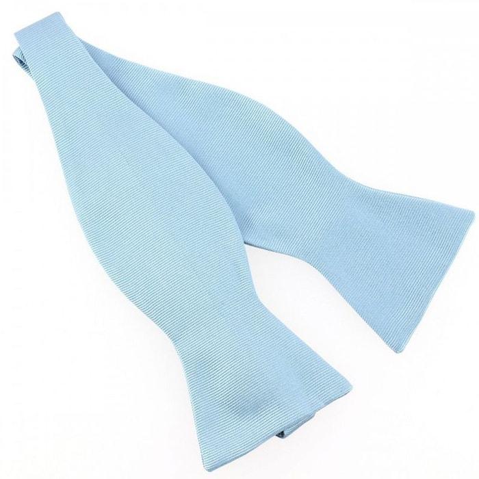 N?ud papillon à nouer en soie, tevere bleu, fait à la main bleu Tony Et Paul | La Redoute