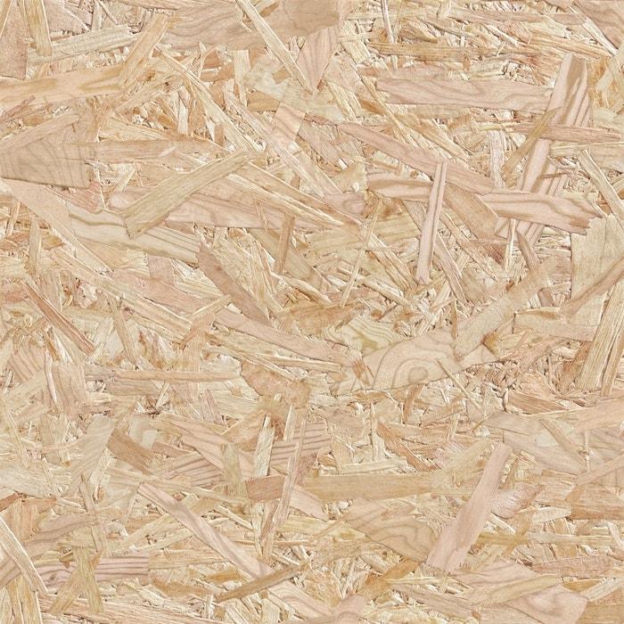papier peint panneau de particules bois osb marron clair koziel la redoute. Black Bedroom Furniture Sets. Home Design Ideas