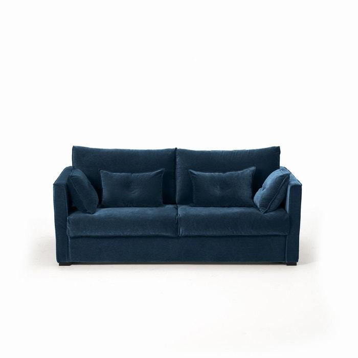 canap convertible camille velours am pm la redoute. Black Bedroom Furniture Sets. Home Design Ideas
