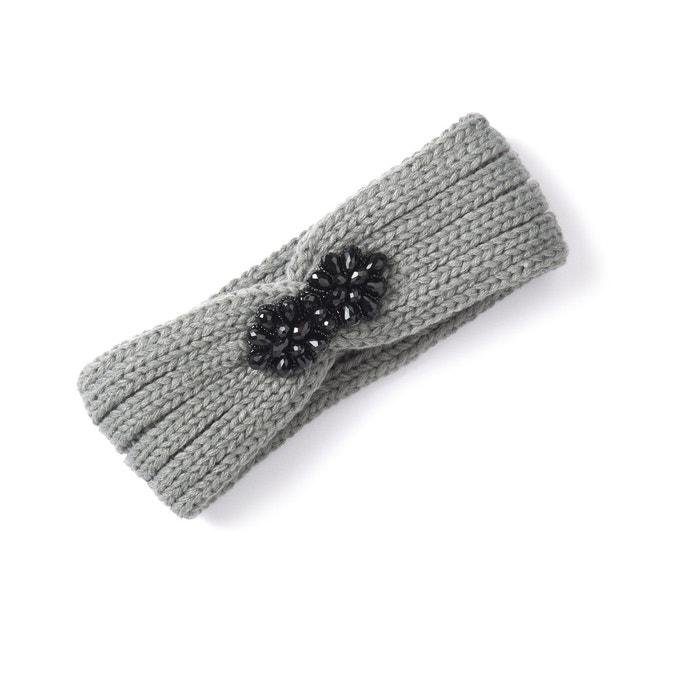 Image Fascia in maglia e bijou di perle MADEMOISELLE R