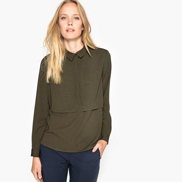 Shirt Style Blouse  SEE U SOON image 0