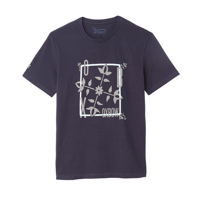 Short-Sleeved Crew Neck T-Shirt  OXBOW image 0