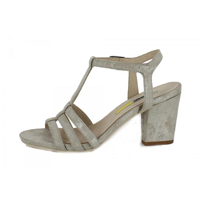 Sandales gris Manas