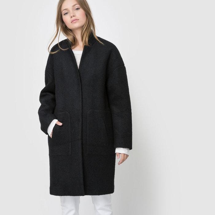 Manteau mi-long forme ovoïde R essentiel