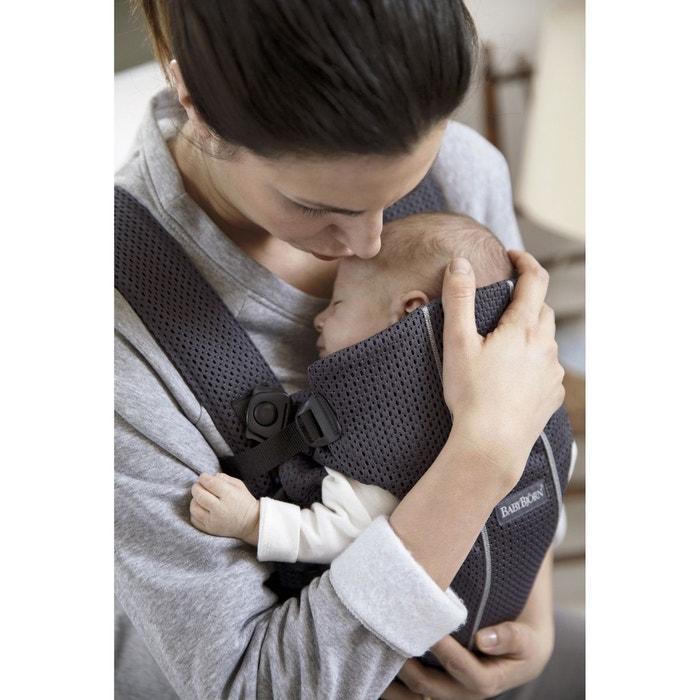 Porte-bébé mini, mesh 3d anthracite Babybjorn   La Redoute 58bb8c81922