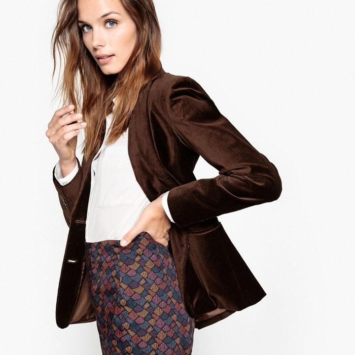 Veste blazer velours La Redoute Collections