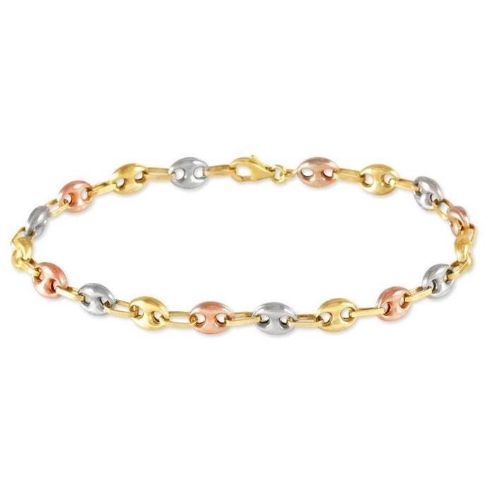 Bracelet or tricolore Histoire D'or | La Redoute La Qualité De La France Pas Cher Parcourir La Sortie 6NZT8