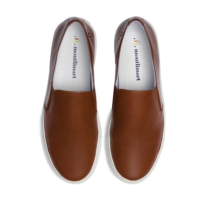 Slip-on cuir made in france montnico Montlimart