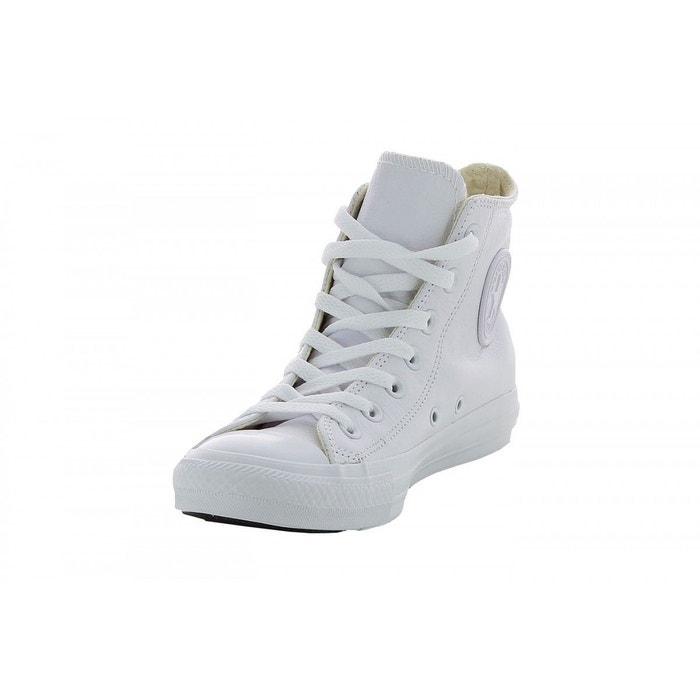 b2a62891715e8 Basket mode chuck taylor all star leather hi blanc Converse